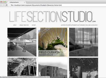 LifeSectionStudio homepage