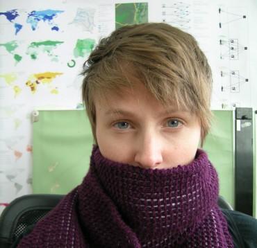 Wearing scarf