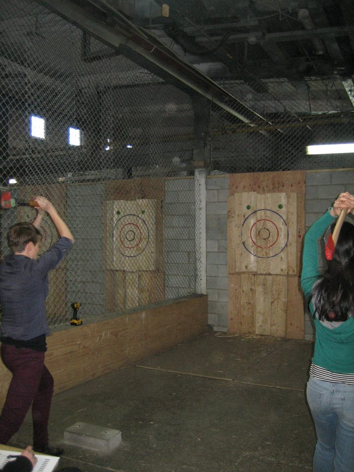 throwing axes