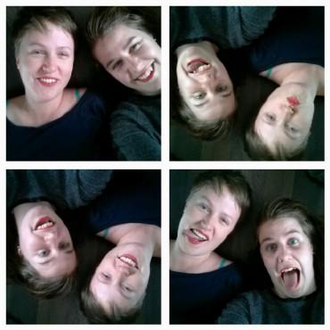 Crazy faces