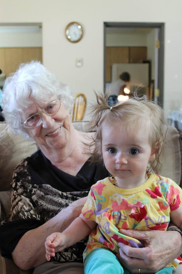 Grandma and Emma Lee