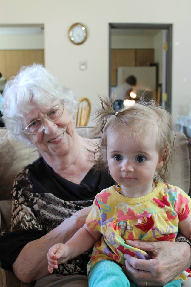 Grandma and Emma Lee