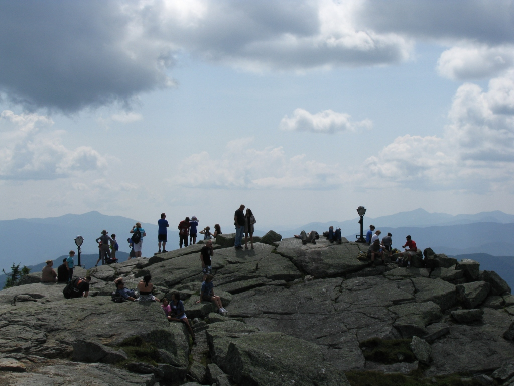 Tourists on Whiteface