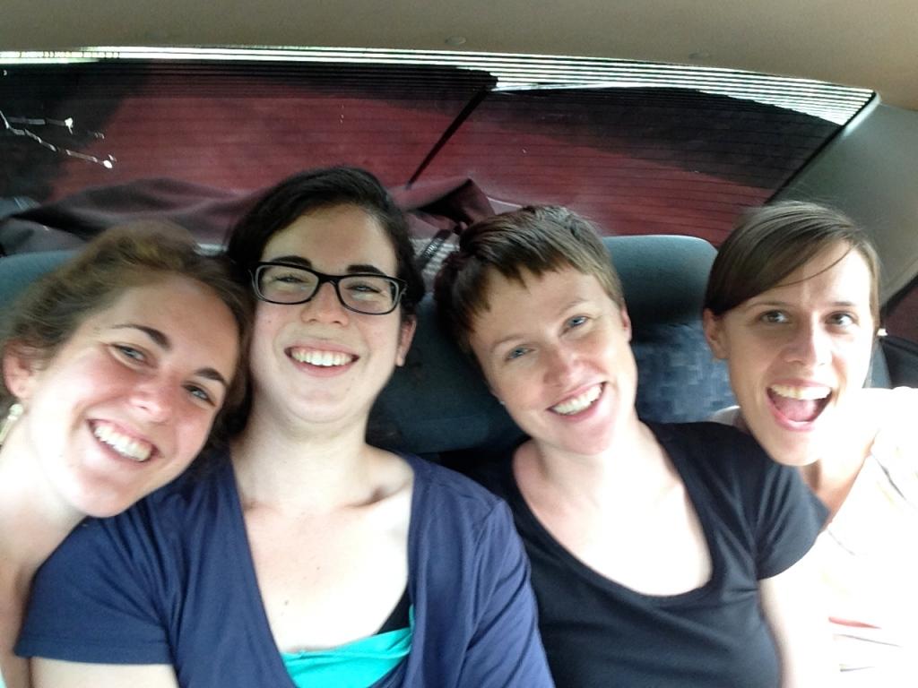 Back Seat Selfie!