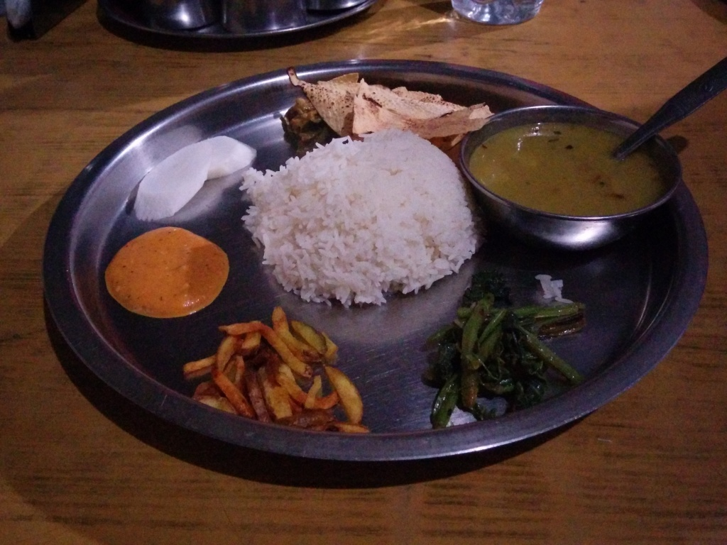 Rice and dal