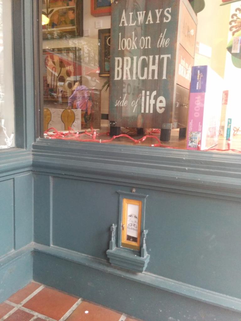 Fairy door?!? I want one!