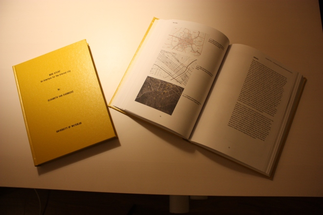 Bound thesis book